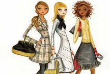 Bella Pilar illustrations