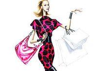 Elena Arturo Fashion illustrations