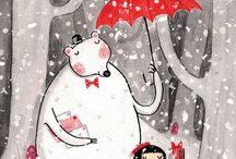 Rainy Day illustrations