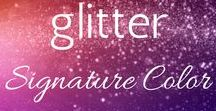 Your Signature Color :: Glitter / Your Signature Color is...glitter!! You like to sparkle and shine!