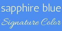 Your Signature Color:: Sapphire Blue