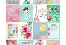 Life planners, scrapbook & wallpapers