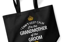 Grandmother of the Groom Gift Ideas / Gifts for the Grandmother of Groom. From mugs and shirts and from bestselling bags and keepsakes to laser engraved gifts for the Grandmother of Groom. Something special and original to cater for the special day, helping to make the perfect wedding.