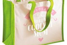 Mum Gifts / Mum gift ideas. Mum presents from birthday mugs to t shirts, bags to key rings  and from aprons to beautiful laser etched gifts for the lucky Mum.