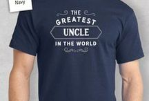 Uncle Gifts / Uncle gift ideas. Uncle presents from birthday mugs to t shirts, bags to key rings  and from aprons to beautiful laser etched gifts for the lucky Uncle.