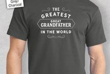 Great Grandfather Gift Ideas / Great Grandfather gift ideas. Great Grandfather presents from birthday mugs to t shirts, bags to key rings  and from aprons to beautiful laser etched gifts for the lucky Great Grandfather.