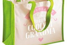 Grandma Gift Ideas / Grandma gift ideas. Grandma presents from birthday mugs to t shirts, bags to key rings  and from aprons to beautiful laser etched gifts for the lucky Grandma.