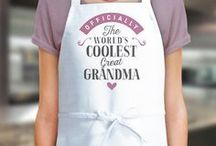 Great Grandma Gift Ideas / Great Grandma gift ideas. Great Grandma presents from birthday mugs to t shirts, bags to key rings  and from aprons to beautiful laser etched gifts for the lucky Great Grandma.