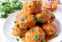 Buffalo Sauce Recipes / Recipes with Buffalo Sauce including Buffalo Chicken, Buffalo Burgers, Buffalo Chicken Dip and more!