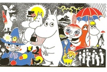 The Moomins / by Tove Jansson