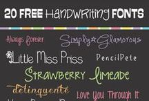 lettertype / fonts