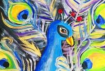 tekenen en schilderen/ drawing and painting