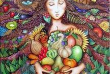♥ Vegetarian & Vegan Recipes ♥ / I am vegetarian since 2001 , but also love vegan food.  * No cruelty with animals !   If there is something here in my list with meat or fish I did not see and must replace. The animals suffer so much at the farms, transport and slaughterhouses, it is horrendous what they do with those poor , defenseless souls, I used to love meat, I still do when I remember the taste, but cannot be part of this brutality , I love animals more. Love is sacrifice, they are our small brothers and sisters.  / by Vanna Rocha