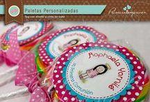 Paletas dulces Personalizadas / Deliciosas paletas dulces super personalizadas. Incluyen tag personalizado y lindo lazito de color!