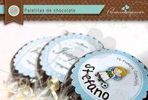 Paletas de chocolate / Deliciosas paletas de chocolate