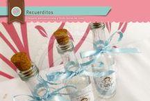 Botellitas de recuerdo / Botellitas de recuerdo para agua bendita