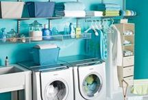 Dreamy Laundry Rooms / Why are laundry rooms the very last place most homeowners think to stage and decorate? Make the laundry room the most popular room in the house with these ideas.  And maybe you'll find a few missing socks or two.