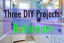 Great DIY / Some cute ideas in our #DIY series on sprucing up your #bathroom, #kitchen, #home from www.roseandwomble.com/blog and through out Pinterest