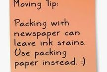 Moving Tips and Tricks / And everyone thinks buying the house is stressful but packing and moving a home can be nuts or with these tips it can be awesome #Moving #RealEstate #RoseandWomble