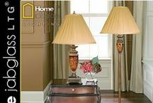 Table Lamps by JabGLASS HOME LTG / Table lamps, Floor Lamps, Bed Lamps, Sets, Candle Holders