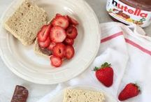 Nutella Recipes / Nutella recipes for breakfast, brunch, dessert and more!