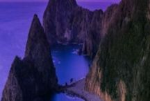 I LOVE MOUNTAINS! / Love of mountains, PRETTY MOUNTAIN SCENERY, landscapes. Romantic scenery