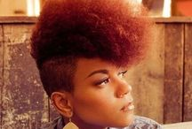NATURAL women rock! / natural hair styles, tips etc