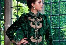SPECIAL OCCASIONS / Sumptuous, elegant designer outfits in silk and velvet