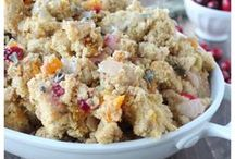 Christmas Dinner Recipes / Recipes for Christmas dinner from appetizers and side dishes to entrees and desserts!