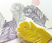 Print Making / Tips and inspiration for print making other than screen printing & lino block.