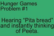 The Hunger Games / My obsession with The Hunger Games is not healthy.