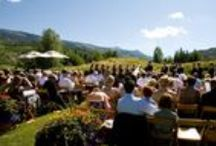 Weddings & Events / Nobody does special events like the team at the Snowmass Club.