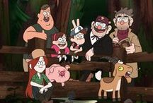 Gravity Falls / Board dedicated to my best friend Kewt because she loves Gravity Falls and is trying to get me hooked as well. (Quick Note; she did get me hooked, I just finished Season 2 and I am crying, the FEELS... I CAN'T, IT IS NOT ALLOWED TO BE OVER)!!!