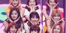 TWICE / Tzuyu, Dahyun, Jeongyeon, Momo, Jihyo, Sana, Chaeyoung, Nayeon and Mina <3 Love these girls xox