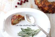 Friendsgiving Recipes / Friendsgiving recipes featuring side dishes, entrees and desserts for celebrating Friendsgiving!