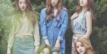 CLC / Yeeun is gorgeous and sounds like my beloved Hyuna - Yeeun, Sorn, Seungyeon, Yujin and Seunghee
