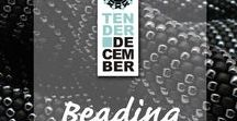 Tender December: Beading / Our beading jewellery, beading jewelry, unusual beading earrings, bracelets, nacklaces, bags and other beading projects.