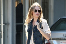 Celebrity Street Style: Kate Bosworth / all about Kate's style.