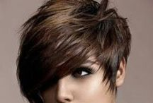 Hair styles / Different kinds of fashionable and stylish hair styles.