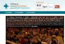 COMEARTH au colloque Industries Numérique et de la Santé.  / Tenu à Paris le 4 et 5 Juillet 2013, retouvez COMEARTH au colloque Industries Numérique et de la Santé !