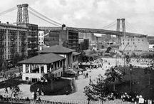"""our peninsula, my corner of NY / My neighborhood, then and now: the eastern most tip of New York's Lower East Side, in a neighborhood  formerly known as the notorious """"Corlear's Hook""""."""