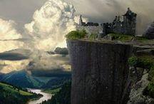 Castelli, villaggi e paesaggi incantati / Luoghi del mondo incantati, paesaggi infiniti e castelli magici...