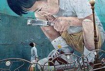 pt, Streets full of art / #streetart #present #time ♥ www.pt-store.pl