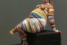freeform chrochet & knitting inspirational / by Sirkka Koskinen