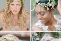 Wedding hair / Hair styles for wedding