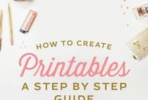 Creating Printables / Tips, tricks, hacks for creating printables and printable image transfers. Tips for sizing and printing.