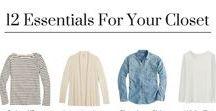 Capsule Wardrobe / Learn to build and love a smaller, simple wardrobe. | #minimalistwardrobe