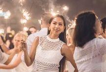 Prêt-à-Porter... En Blanc! / Get creative with your outfit for your next Diner en Blanc! Soyez créatifs dans votre choix de tenue pour votre prochain Dîner en Blanc !