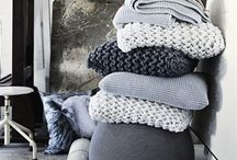 Crochet and Knit / heaps of ideas for my wool stash......one day :D
