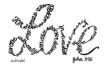 BIBLE VERSES / by MRS. J.